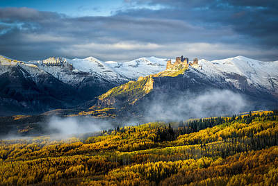 Photograph - Castle In The Clouds by Phyllis Peterson