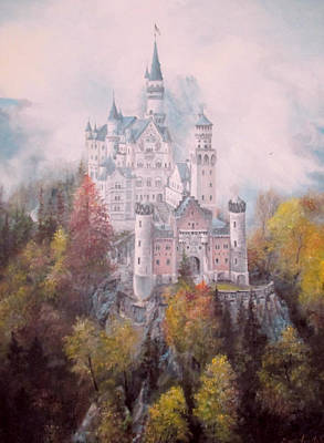 Painting - Castle In The Clouds by Sorin Apostolescu