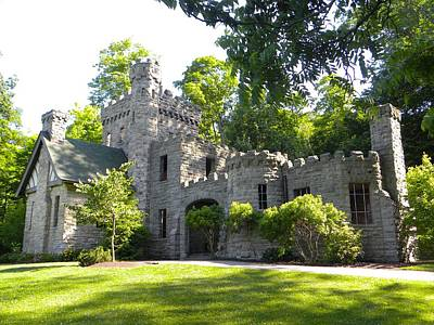 Park Photograph - Castle In The Park by Ric Schafer