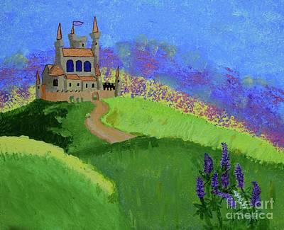 Painting - Castle In The Sky by Johanne Peale