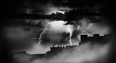 Photograph - Castle In The Storm by Jason Shephard