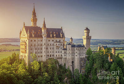 Photograph - Castle In The Sun by JR Photography