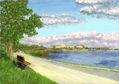 Painting - Castle Island - Summer by William Frew