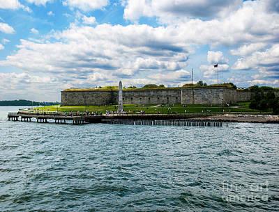 Castle Island  Boston Ma Art Print by Gordon Gaul