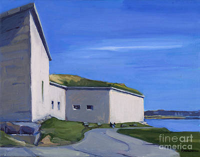 Southie Wall Art - Painting - Castle Island by Deb Putnam