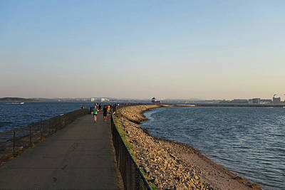 Southie Wall Art - Photograph - Castle Island Loop Trail Boston Ma by Toby McGuire