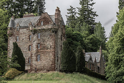 Photograph - Castle Leod 0925  by Teresa Wilson
