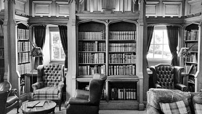 Photograph - Castle Library by Christi Kraft
