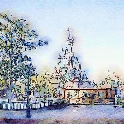 Fantasy Royalty-Free and Rights-Managed Images - Castle by Marianna Mills