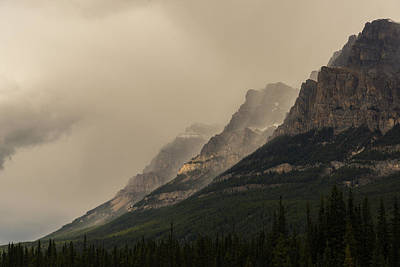 Photograph - Castle Mountain by Alex Lapidus