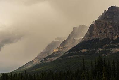 Photograph - Castle Mountain by Alex Lapidus
