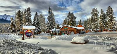 Photograph - Castle Mountain Resort Banff by Adam Jewell