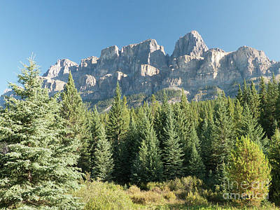 Photograph - Castle Mountain by Rod Jones