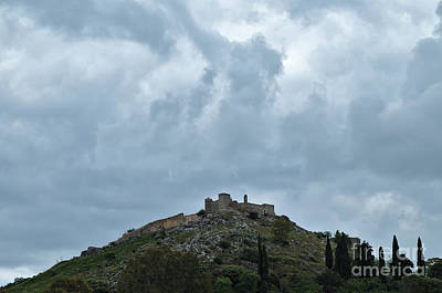 Photograph - Castle Of Aracena by Angelo DeVal