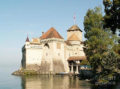 Castle Of Chillon Original by Evgeny Pisarev