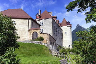 Photograph - Castle Of Gruyeres, Fribourg, Switzerland by Elenarts - Elena Duvernay photo