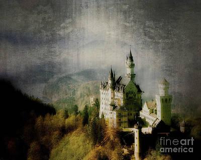 Digital Art - Castle Of Magic by Edmund Nagele