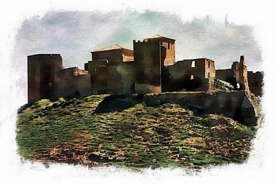 Photograph - Castle Of Montearagon by Anthony Dezenzio
