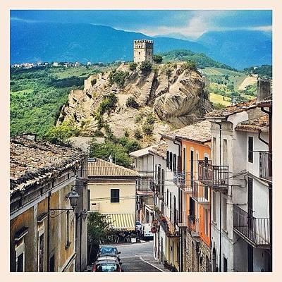 Still Life Photograph - Castle Of Roccascalegna by Massimiliano Bellisario