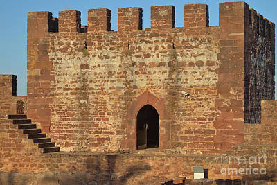 Medieval Photograph - Castle Of Silves Tower At Golden Hour by Angelo DeVal