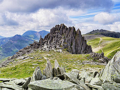 Photograph - Castle Of The Winds, Snowdonia by Colin and Linda McKie