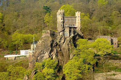 Castle On A Rock Art Print