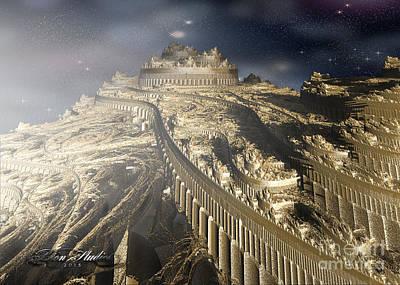 Digital Art - Castle On High by Melissa Messick