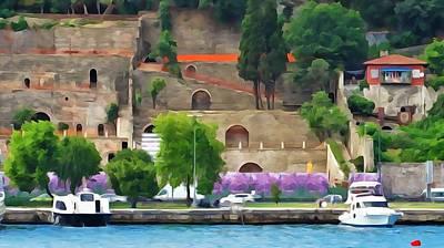 Photograph - Castle On The Bosphorus by Lisa Dunn