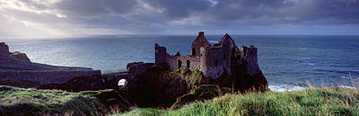 County Antrim Photograph - Castle On The Coast, Dunluce Castle by Panoramic Images