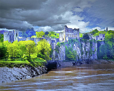 Digital Art - Castle On The River Wye by Vicki Lea Eggen