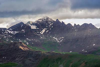 Photograph - Castle Peak by Aaron Spong