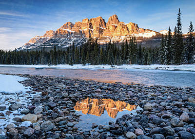 Photograph - Castle Peaks by Michael Blanchette