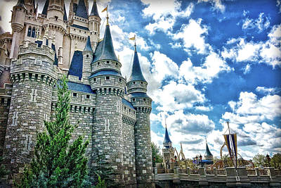 Photograph - Castle Perspective by Nora Martinez