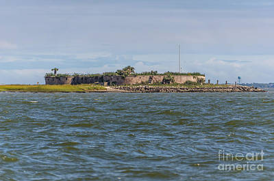 Photograph - Castle Pinckney by Dale Powell