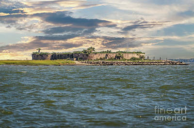 Photograph - Castle Pinckney Fortification by Dale Powell