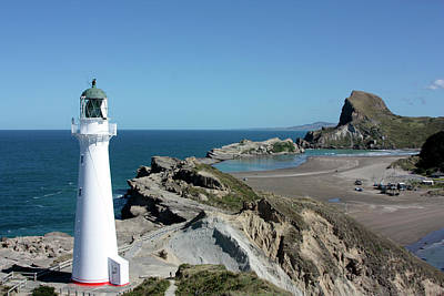 Photograph - Castle Point Lighthouse by Bruce