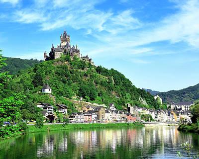 Photograph - Castle Reichsburg by Don and Bonnie Fink