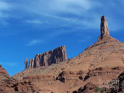 Photograph - Castle Rock - Utah by Pamela Walrath