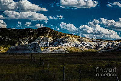 Photograph - Castle Rock Badlands by Jon Burch Photography