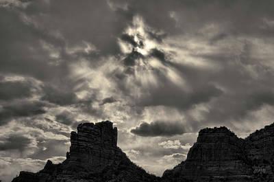Photograph - Castle Rock II Sedona Az Toned by David Gordon