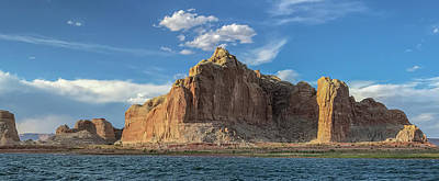 Photograph - Castle Rock - Lake Powell by Teresa Wilson