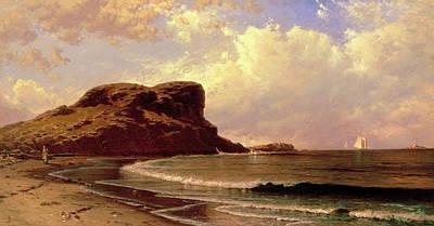 Castle Rock, Nahant Massachusetts Art Print
