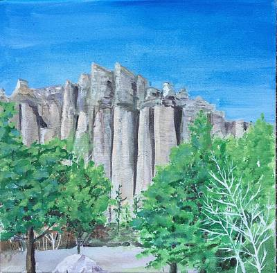 Painting - Castle Rocks by Christine Lathrop