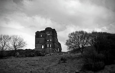 Irish Castle Photograph - Castle Ruin by Aidan Moran