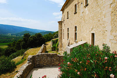 Clouds - Castle Ruins in Menerbes Provence France by Just Eclectic