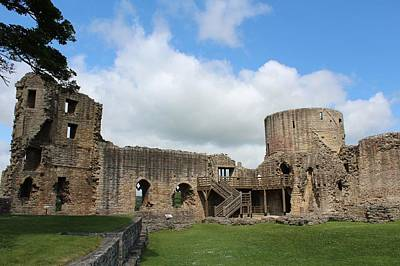 Photograph - Castle Ruins by JLowPhotos