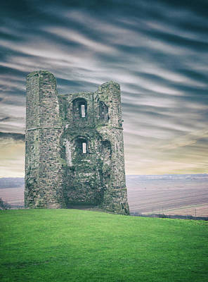 Fantasy Royalty-Free and Rights-Managed Images - Castle Ruins by Martin Newman