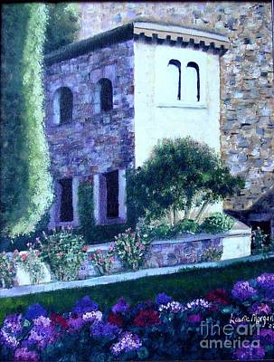 Painting - Castle Sestri Levante by Laurie Morgan