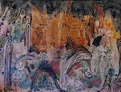 Castle Art Print by Sima Amid Wewetzer