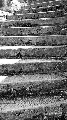 Photograph - Castle Stairs by E B Schmidt
